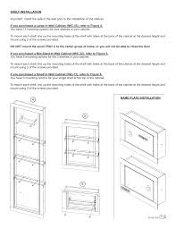 stack on iwc 22 in wall cabinet stack on iwc 11 user manual page 3 15 also for iwc 22 iwc 55