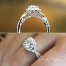 engagement rings images gabriel co voted 1 most preferred bridal brand two views of