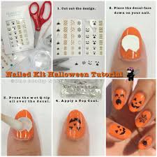 nailed kit halloween tutorial the crafty ninja