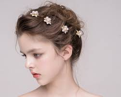 s hair accessories 6pcs lot wedding hair accessories small gold hairpins