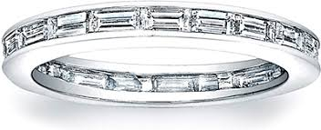 baguette diamond band channel set baguette diamond band scs653