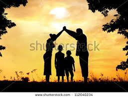 happy family house stock photo 112040234