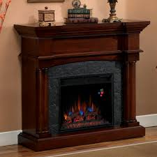 electric fireplace mantel in charm decorations med art home