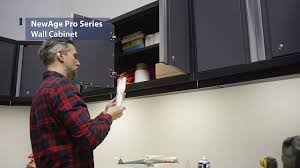 new age pro series cabinets newage products 52000 pro 3 0 series 18 gauge metal wall cabinet