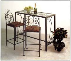 Bar Table And Stool Wrought Iron Bar Stool Tables