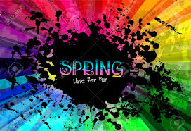 colorful colors spring colorful explosion of colors background for your party