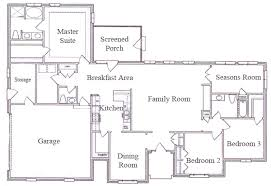 ranch style house floor plans ranch style house floor plans