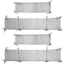 white crib bumper from buy buy baby
