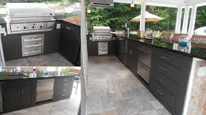 Outdoor Kitchen Cabinets Polymer Attractive Ideas  More HBE - Outdoor kitchen cabinets polymer