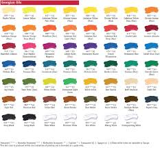 oil paint color value chart ideas glazing chart for oil painting