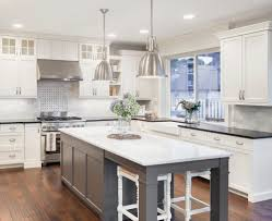 Two Toned Kitchen Cabinets As Home Renovations U0026 Remodeling U2014 Two Toned Kitchen Cabinets The