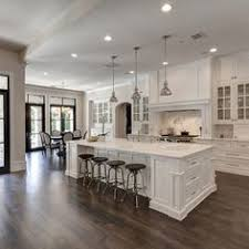 kitchens ideas with white cabinets i want this exact layout of island opposite stove whisper rock
