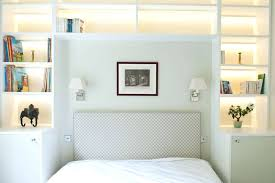 Bookshelf Headboard Plans Bookcase Queen Bed With Bookcase Headboard Australia Really Like