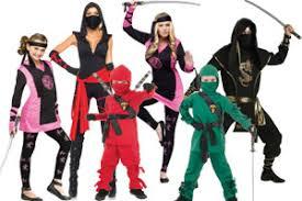 Halloween Ninja Costumes Group Costume Ideas Halloween 2017
