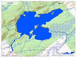Lake Placid New York Map by William C Whitney Wilderness U2013 Andy Arthur Org