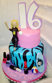 exclusive cakes by tessa sweet 16 birthday cake with a