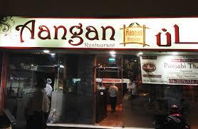 Restaurant Decor Best Indian Restaurants In Dubai Aangan Restaurant Loversiq