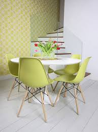 Eames Eiffel Armchair Saarinen Table U0026 Eames Eiffel Chairs From Apartment Therap U2026 Flickr