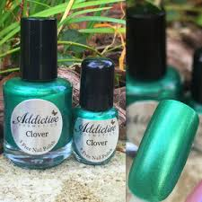 emerald green nail polishes polyvore