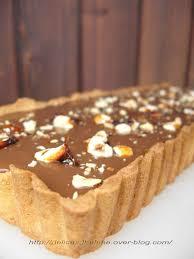 jeux de cuisine tarte au chocolat tarte chocolat au lait noisettes caramelisees a la fleur de sel de