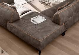 High End Leather Sectional Sofa Gamma Arredamenti Neo Furniture