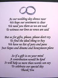 wedding poems 20 wedding poems asking for money gifts not presents ref no 4 ebay