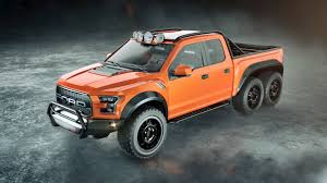 Ford Raptor Yellow - velociraptor 6x6 hennessey performance