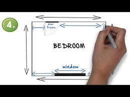 how to draw a bedroom floor plan
