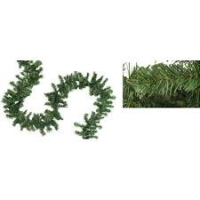 christmas garland 9 x 8 canadian pine artificial christmas garland unlit walmart