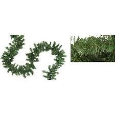 9 x 8 canadian pine artificial garland unlit