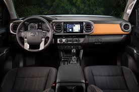 1999 Tacoma Interior The Newly Redesigned 2016 Toyota Tacoma Boasts More Trail Prowess