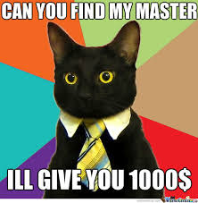 Rich Cat Meme - lost rich cat by knightmaker meme center