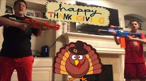 nerf war thanksgiving special 500 subs