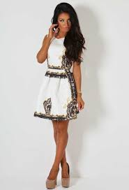 pink boutique dresses luxurious white print skater dress pink boutique daring