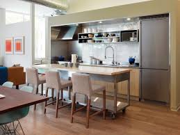Kitchen Island With Table Seating Narrow Kitchen Island With Seating Small Ideas Pictures Tips From
