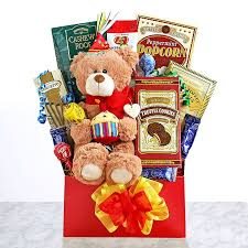 gifts for birthday beary happy birthday box and other fruits gifts at