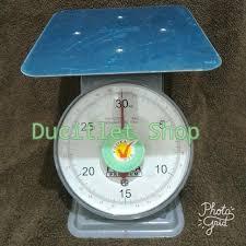 Timbangan Duduk Plastik timbangan jarum plastik 2 kg daftar harga terlengkap indonesia terkini