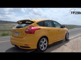 ford focus st specs 0 60 2013 ford focus st 0 60 mph drive review