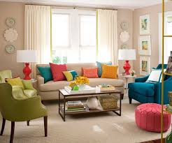 Neutral Sofa Decorating Ideas by Best 25 Colourful Living Room Ideas On Pinterest Colorful Couch