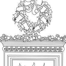 flowers stars wreath coloring pages hellokids