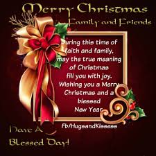 quote happy christmas merry christmas family and friends christmas merry christmas