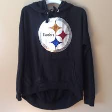 65 off pink victoria u0027s secret sweaters sold rare steelers