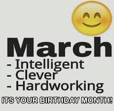 March Birthday Memes - march birthday memes printable calendar template