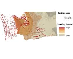 washington earthquake risk map cascadia