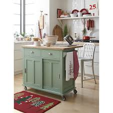 belmont mint kitchen island crate and barrel kitchen pinterest
