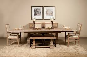 dining room adorable rustic dining table bench mediterranean