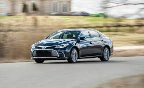 toyota big cars 2017 toyota avalon in depth model review car and driver