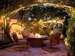 Stringing Lights In Backyard by The Veranda Blog Christy Sports Patio Furniture Tag U2013 String