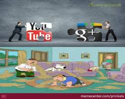 Google Plus Meme - youtube and google plus by recyclebin meme center