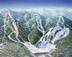 Map Of Usa Mountains by West Usa Ski Maps Archives James Niehuesjames Niehues